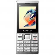 Мобильный телефон Keneksi X8 Dual Sim Silver (4602009346040)