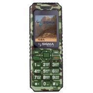 Мобильный телефон Sigma X-style 11 Dual Sim Green Camouflage (4827798327210)