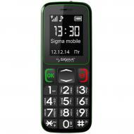 Мобильный телефон Sigma Comfort 50 mini3 Black/Green (6907798337322)