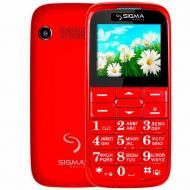 Мобильный телефон Sigma Comfort 50 Slim Dual Sim Red (4304210212151)