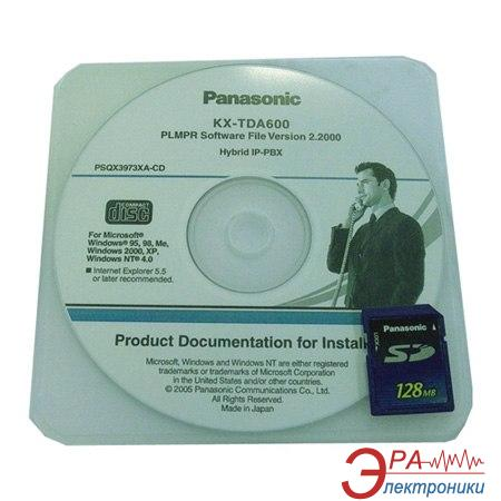 Программное обеспечение Panasonic KX-TDA6920XJ Enhanced Features (on SD Card)