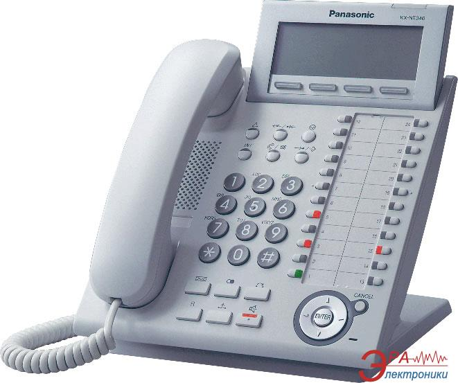 Системный телефон Panasonic KX-DT333UA White