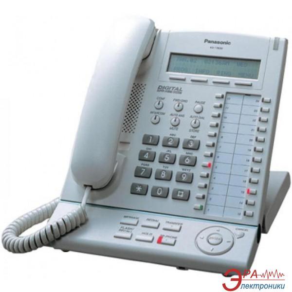 Системный телефон Panasonic KX-T7630UA White