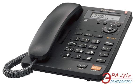 Проводной телефон Panasonic KX-TS2565UAB Black