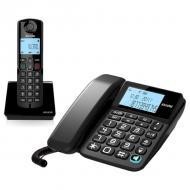 Проводной телефон ALCATEL S250 Combo RU BLK (ATL1418958) Black