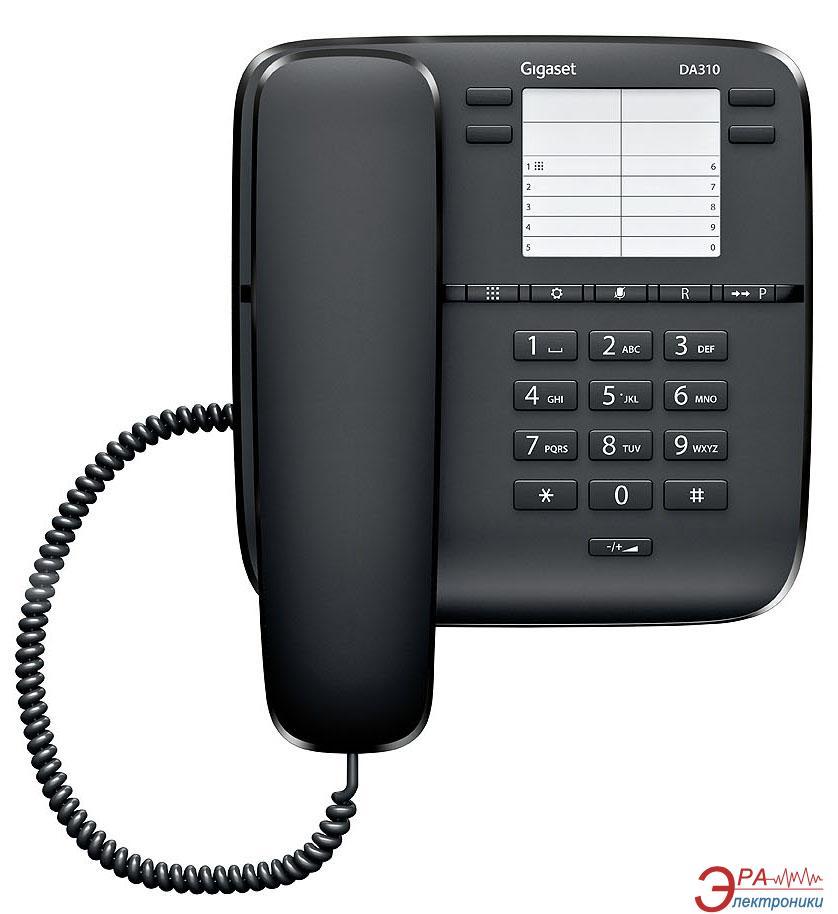 Проводной телефон Siemens Gigaset DA310 Black