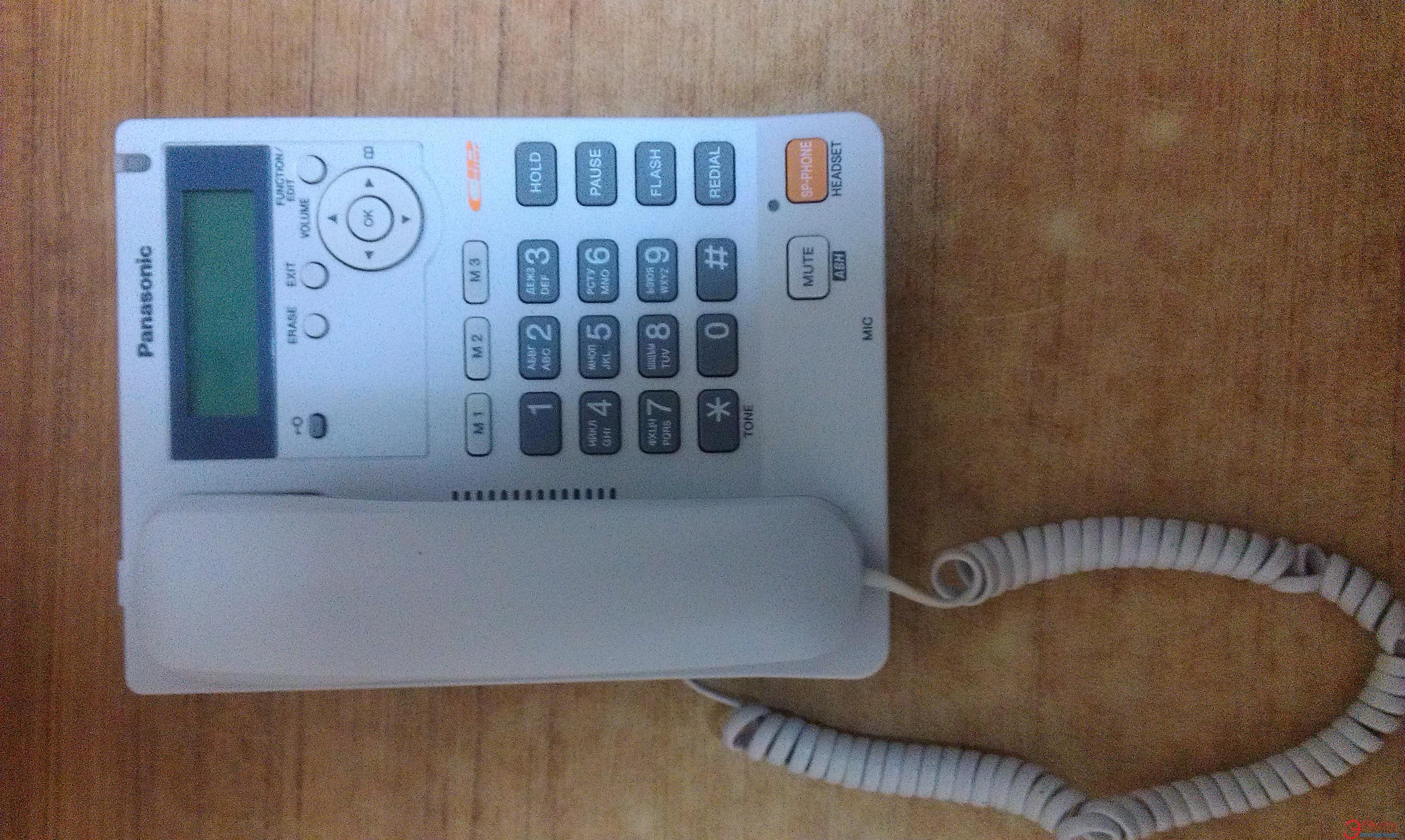 Проводной телефон Panasonic KX-TS2565UAW   б/у White