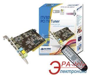 TV+FM Тюнер Items ITV305 Stereo