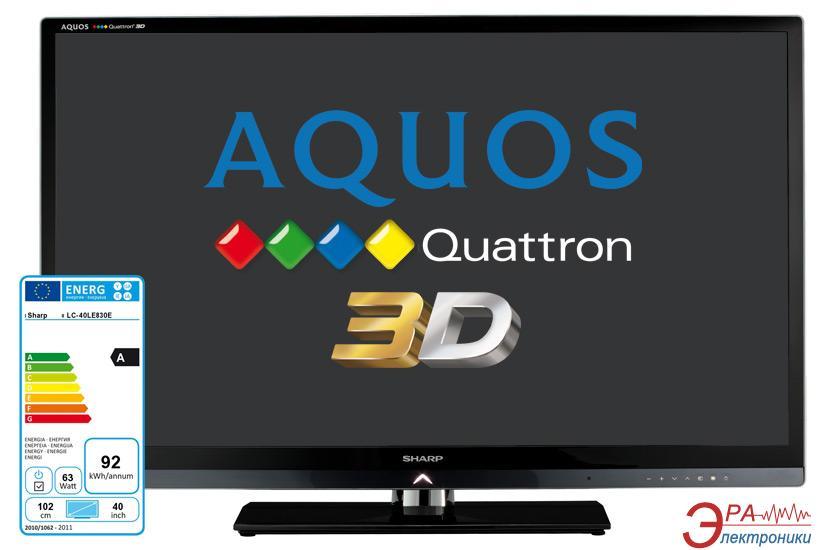 3D LED Телевизор 40 Sharp LC-40LE830E