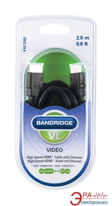 Кабель HDMI Bandridge ValueLine Cable 2m (VVL1202)