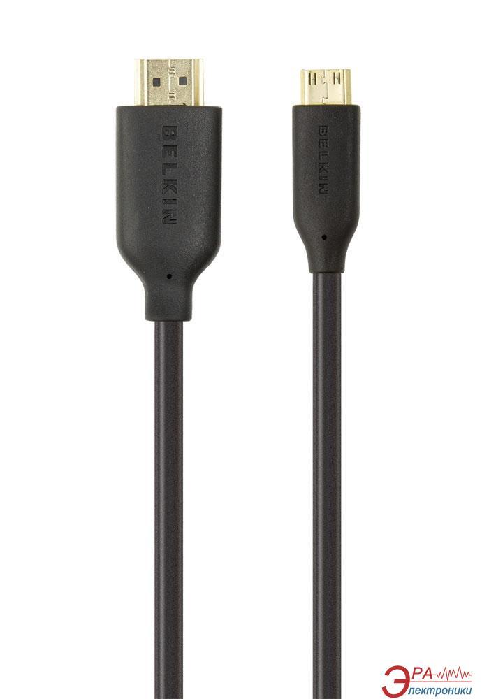 HDMI-miniHDMI Belkin HighSpeed 1m Black (F3Y027bf1M)