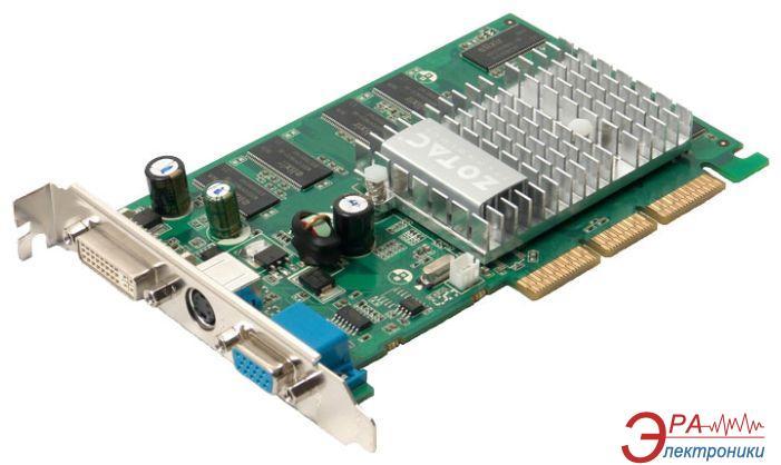 Видеокарта Nvidia GeForce Zotac GeForce FX5200 GDDR 256 (ZT-52FA250-HSS)