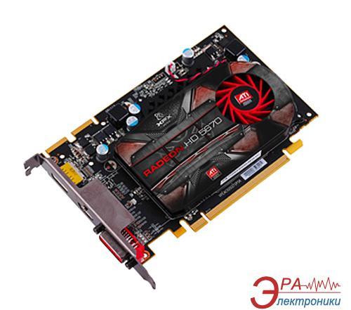Видеокарта XFX ATI Radeon HD5670 GDDR5 512 Мб (HD-567X-YNFM)