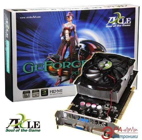 Видеокарта Axle Nvidia GeForce 9800GT GDDR3 512 Мб