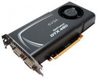 Видеокарта EVGA Nvidia GeForce GTX460 GDDR5 1024 Мб