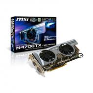 Видеокарта MSI Nvidia GeForce GTX470 Twin Frozr II GDDR5 1280 Мб (N470GTX_TWINFROZRII)