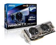 ���������� MSI Nvidia GeForce GTX580 TwinFrozrII/OC GDDR5 1280 �� (N580GTX_TwinFrozrII/OC)