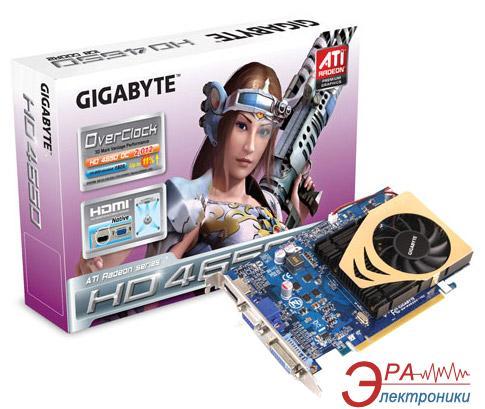 Видеокарта Gigabyte ATI Radeon HD4650 GDDR2 1024 Мб (GV-R465OC-1GI)