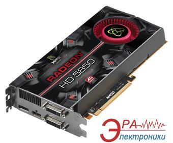 Видеокарта XFX ATI Radeon HD5850 GDDR5 1024 Мб (HD-585X-ZAFC)