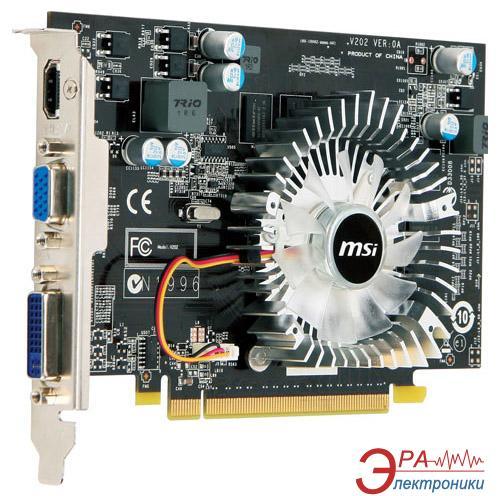 Видеокарта MSI Nvidia GeForce GT220 GDDR2 1024 Мб (N220GT-MD1G)