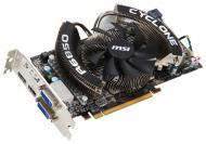 Видеокарта MSI ATI Radeon HD6850 GDDR5 1024 Мб (R6850 CYCLONE 1GD5PE/OC)