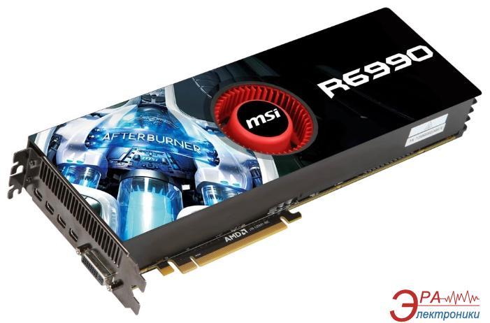 Видеокарта MSI ATI Radeon HD6990 GDDR5 4096 Мб (R6990-4PD4GD5)