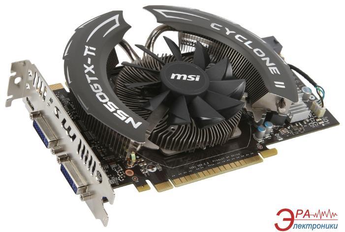 Видеокарта MSI Nvidia GeForce GTX 550 Ti Overclocked GDDR5 1024 Мб (N550GTX-TiCycloneII1GD5/OC)