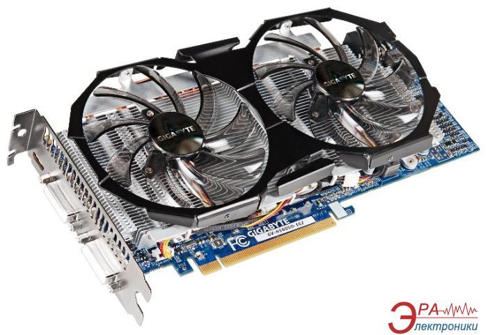 Видеокарта Gigabyte Nvidia GeForce GTX560 WindForce 2x GDDR5 1024 Мб (GV-N56GSO-1GI)