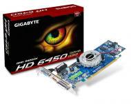 Видеокарта Gigabyte ATI Radeon HD6450 GDDR3 512 Мб (GV-R645D3-512I)