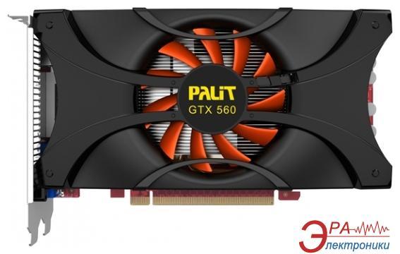 Видеокарта Palit Nvidia GeForce GTX560 Sonic Platinum GDDR5 1024 Мб (NE5X560HHD02-1140F)