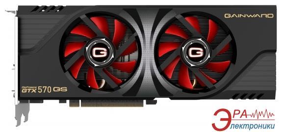 Видеокарта Gainward Nvidia GeForce GTX570 Golden Sample GDDR5 1280 Мб (426018336-1725)