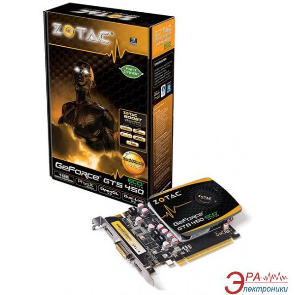 Видеокарта Zotac Nvidia GeForce GTS450 ECO GDDR3 2048 Мб (ZT-40509-10L)