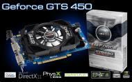 Видеокарта Inno3D Nvidia GeForce GTS 450 GDDR5 512 Мб (N450-4SDN-C5CX)