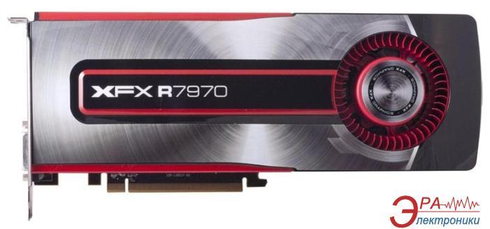 Видеокарта XFX ATI Radeon HD 7970 GDDR5 3072 Мб (FX-797A-TNFC)