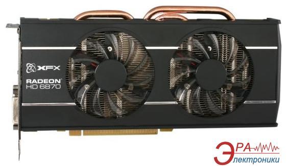 Видеокарта XFX ATI Radeon HD 6870 DoubleD cooling overclocked GDDR5 1024 Мб (HD-687A-ZDFC)