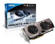 Видеокарта MSI Nvidia GeForce GTX 560 Ti Twin Frozr III PE/OC GDDR5 1280 Мб (N560GTX-Ti 448 Twin Frozr III PE/OC)