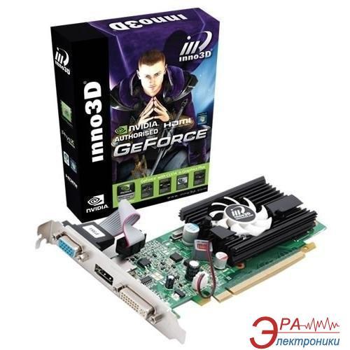 Видеокарта Inno3D Nvidia GeForce 210 GDDR3 512 Мб (N210-3DDV-C3BX)