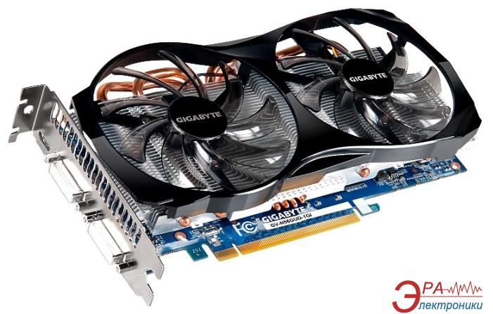 Видеокарта Gigabyte Nvidia GeForce GTX 560 GDDR5 1024 Мб (GV-N56GUD-1GI 1.0A) (GVN56GUGI-00-G)