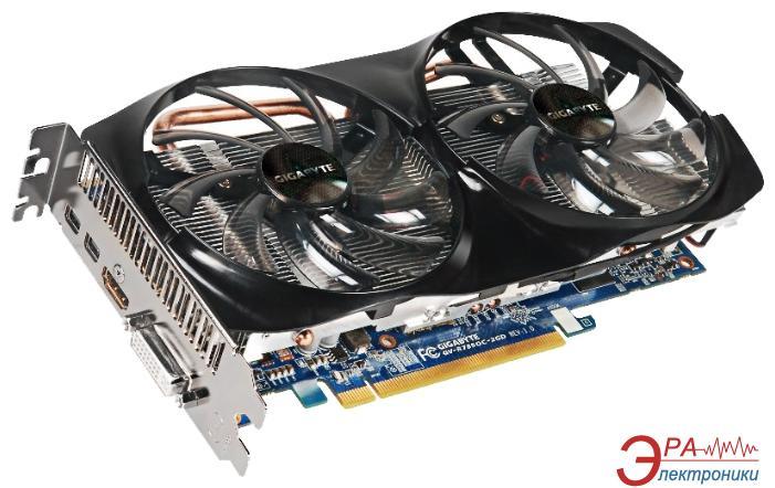 Видеокарта Gigabyte ATI Radeon HD 7850 GDDR5 2048 Мб (GV-R785OC-2GD 1.0 ) (GV-R785O2GD-00-G)