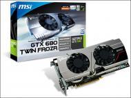 Видеокарта MSI Nvidia GeForce GTX 680 Twin Frozr GDDR5 2048 Мб (N680GTX Twin Frozr 2GD5/OC)