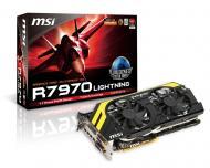 Видеокарта MSI ATI Radeon HD 7970 GDDR5 3072 Мб (R7970 Lightning)
