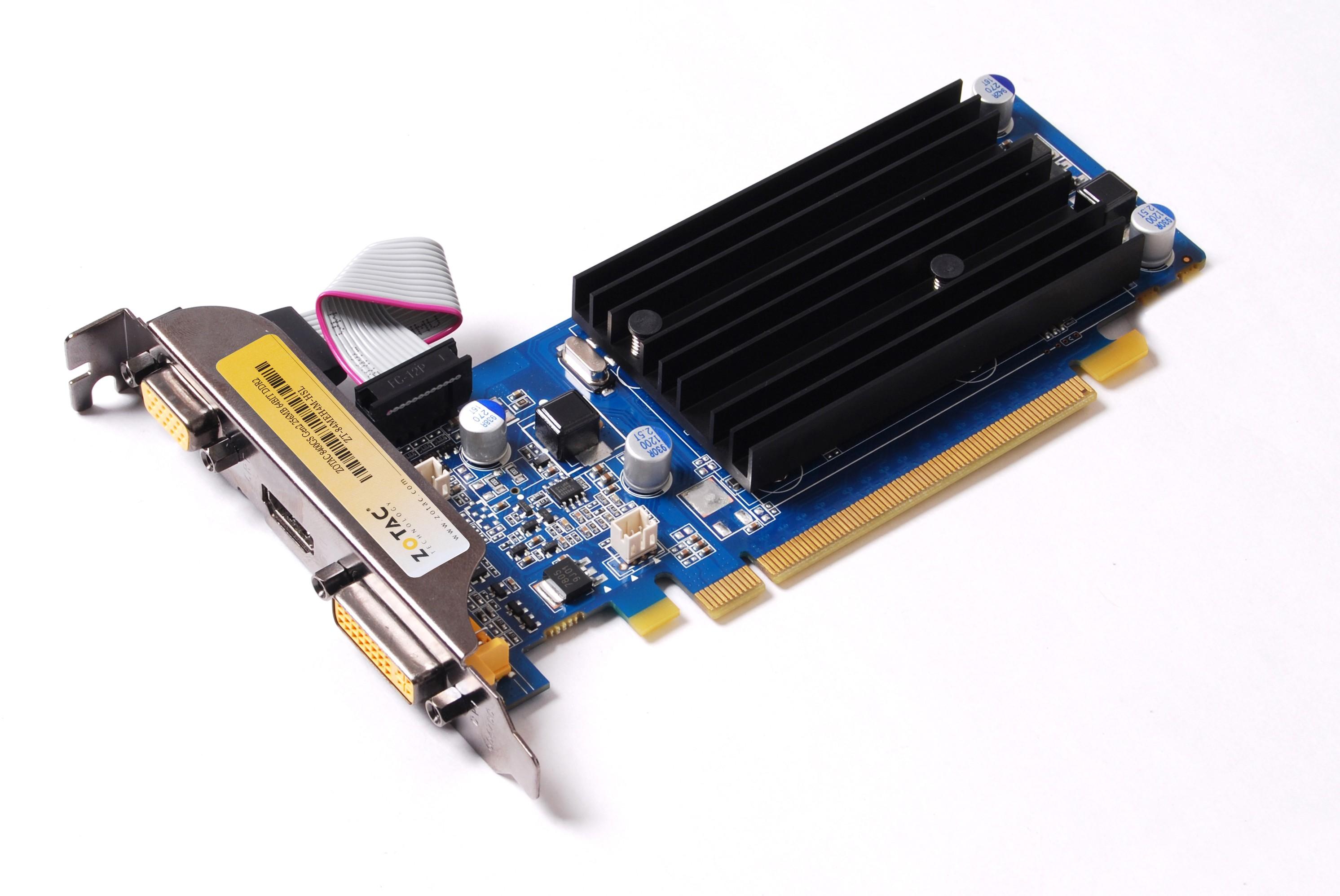 Видеокарта Zotac Nvidia GeForce 8400GS GDDR2 256 Мб (ZT-84MEG5M-HSL)