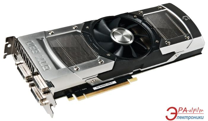 Видеокарта Gigabyte Nvidia GeForce GTX 690 GDDR5 4096 Мб (GV-N690D5-4GD-B)