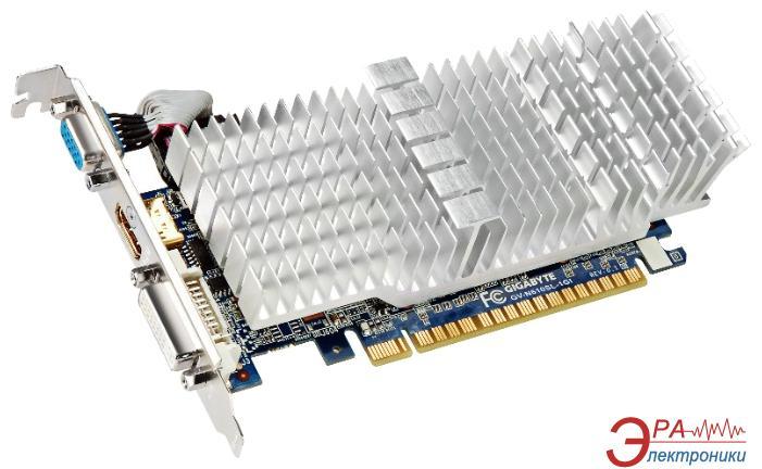 Видеокарта Gigabyte Nvidia GeForce GT 610 low profile silent GDDR3 1024 Мб (GV-N610SL-1GI)