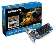 Видеокарта Gigabyte Nvidia GeForce GT 210 TurboCash Low profile GDDR3 512 Мб (GV-N210TC-1GI)