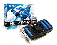 Видеокарта MSI ATI Radeon HD 7850 GDDR5 1024 Мб R7850-1GD5/OC (602-V273-Z11)