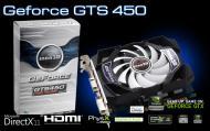 Видеокарта Inno3D Nvidia GeForce GTS 450 GDDR3 1024 Мб (N45M-3DDV-D3CX)