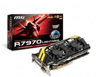 Видеокарта MSI Nvidia GeForce HD 7970 Lightning BE GDDR5 3072 Мб (R7970 Lightning BE)
