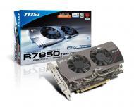Видеокарта MSI Nvidia GeForce HD 7850 Twin Frozr GDDR5 2048 Мб (R7850 Twin Frozr 2GD5) (602-V273-Z03)