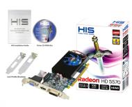 Видеокарта HIS ATI Radeon HD 5570 Fan GDDR3 1024 Мб (H557FJ1G)